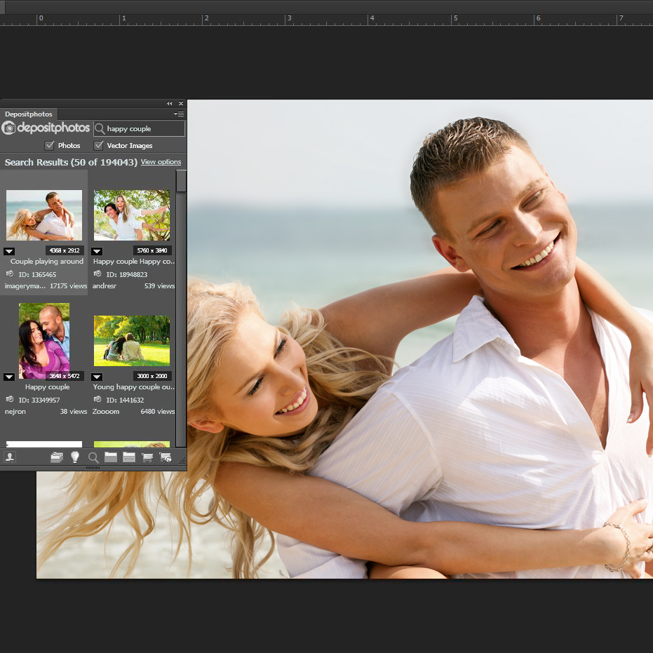 Depositphotos Adobe Extention
