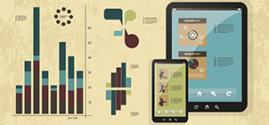 Featured  Vector Image: vector set of infographic elements